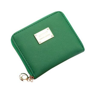 Womens Green Wallet / Purse